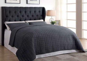 Gray Queen/Full Headboard