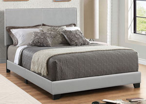 Grey Twin Bed
