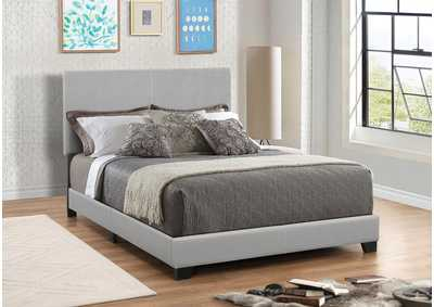 Dorian Grey Upholstered California King Bed