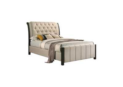 Lohrville Beige Full Bed