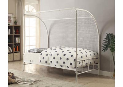 White Twin Soccer Bed