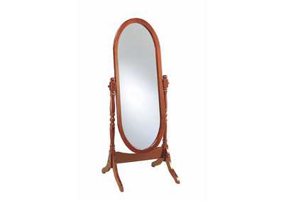 Image for Warm Brown Floor Mirror