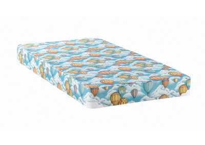 Image for Botticelli Balloon Blue Patterned Full Mattress