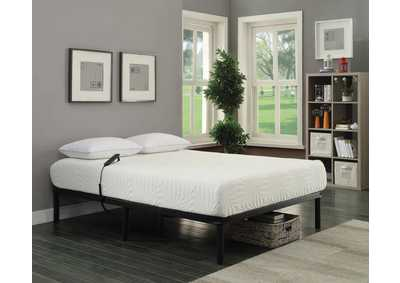 Stanhope Black Adjustable King Bed