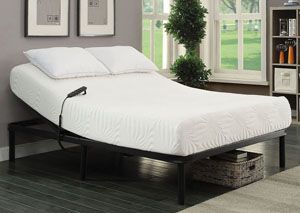 Stanhope Black Adjustable Twin Extra Long Bed