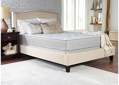 Image for Mercury Crystal Cove II Plush White Queen Mattress