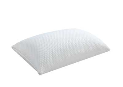 White 12pk Qn Shredded Foam Pillow