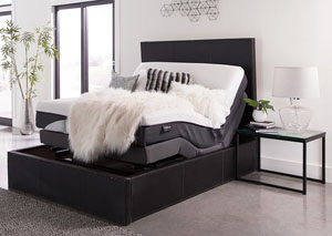 Black Full Adjustable Bed Base