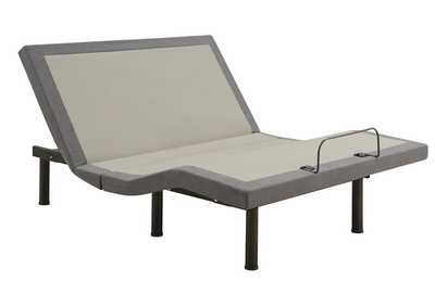 Image for Clara Grey/Black California King Adjustable Bed Base