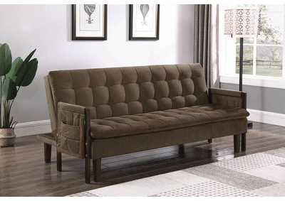 Brown Futon