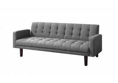 Sommer Grey Tufted Sofa Bed