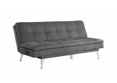 Image for Granite Gray Sofa Chaise Bed W/ Power Outlet