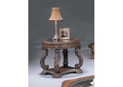 Garroway Brown End Table