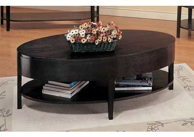 Cappuccino Round Coffee Table