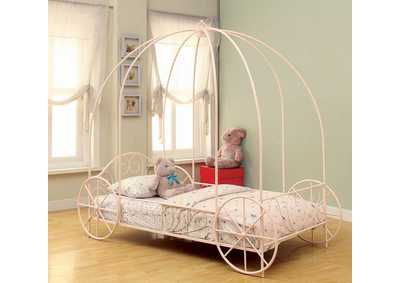 Massi Pink Twin Bed