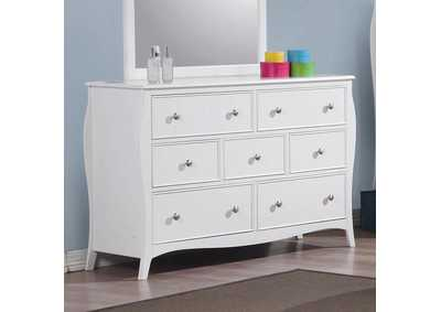 Dominique White Dresser