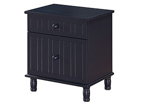 Navy Blue Night Stand