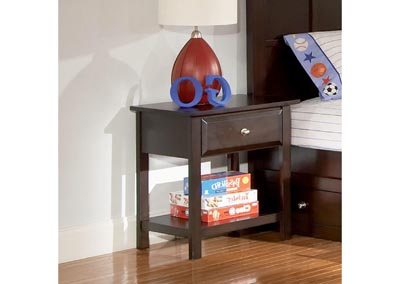 Jasper Cappuccino Night Stand