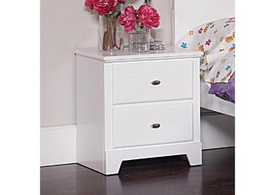 Ashton White Nightstand