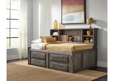 Rustic Gunsmoke Twin Storage Daybed