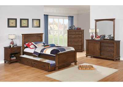 Country Brown Full Bed