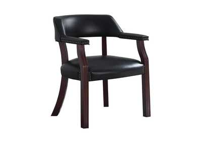Image for Shark Modern Black Guest Chair