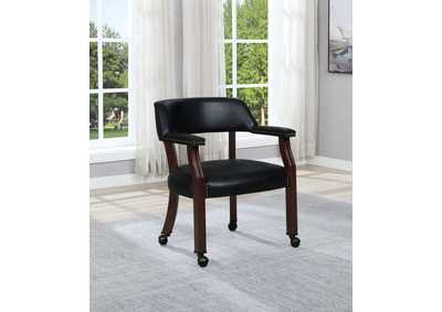 Black Guest Chair