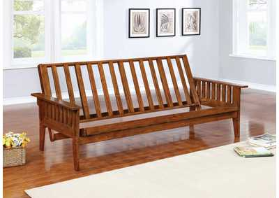 Dirty Oak Futon Frame