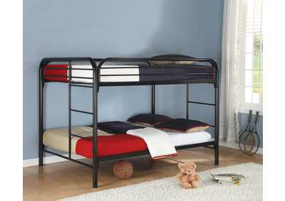 Black Full/Full Bunk Bed