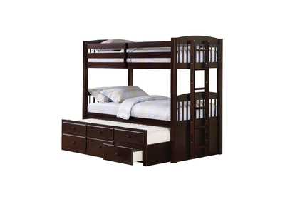 Image for Bistre Kensington Cappuccino Bunk Bed