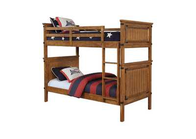 Image for Coronado Rustic Honey Twin-over-Twin Bunk Bed