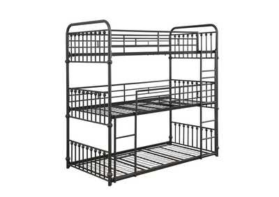 Navarino Bronze T / T / T Triple Bunk Bed