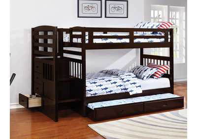 Bunk Bed w/Trundle