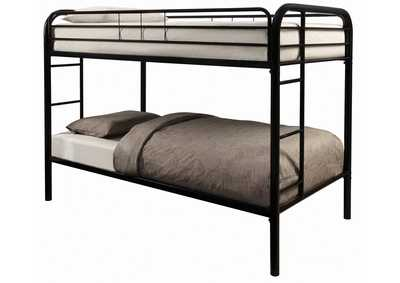 Image for Cod Gray Morgan Black Twin Bunk Bed