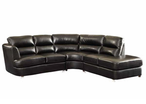 Image for Eerie Black Sectional