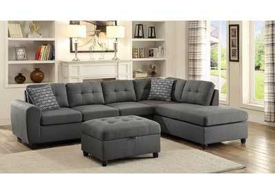 Stonenesse Grey Sectional