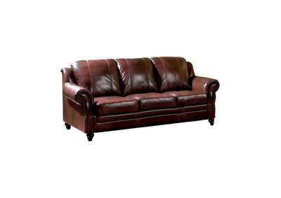 Image for Diesel Princeton Traditional Burgundy Sofa