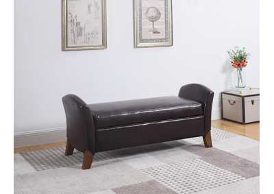 Dark Brown Bench