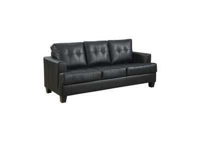 Image for Mine Shaft Samuel Transitional Black Sleeper Sofa