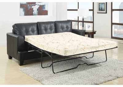Samuel Black Sleeper Sofa
