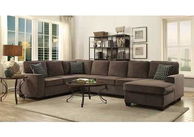 Brown Sectional,Coaster Furniture