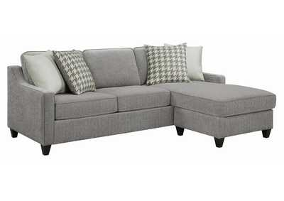 Montgomery Charcoal Upholstered Sectional