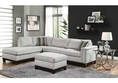 Mason Blue Gray Sectional