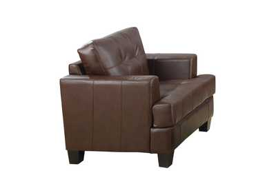 Image for Cappuccino Samuel Transitional Dark Brown Chair