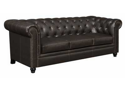 Image for Cappuccino Roy Brown Sofa