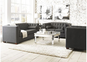 Cairns Brown Sofa & Loveseat