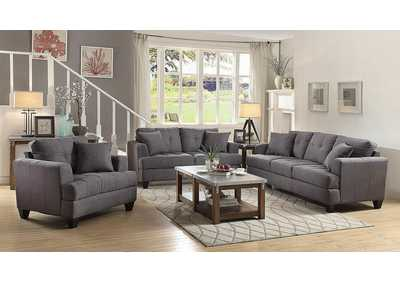 Samuel Charcoal Loveseat