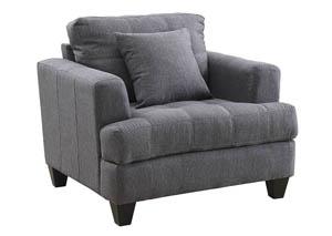 Oak Furniture Liquidators Charcoal Loveseat