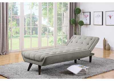 Dove Grey Chaise Bed