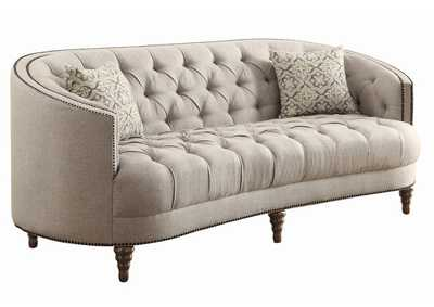 Image for Swirl Avonlea Traditional Beige Sofa